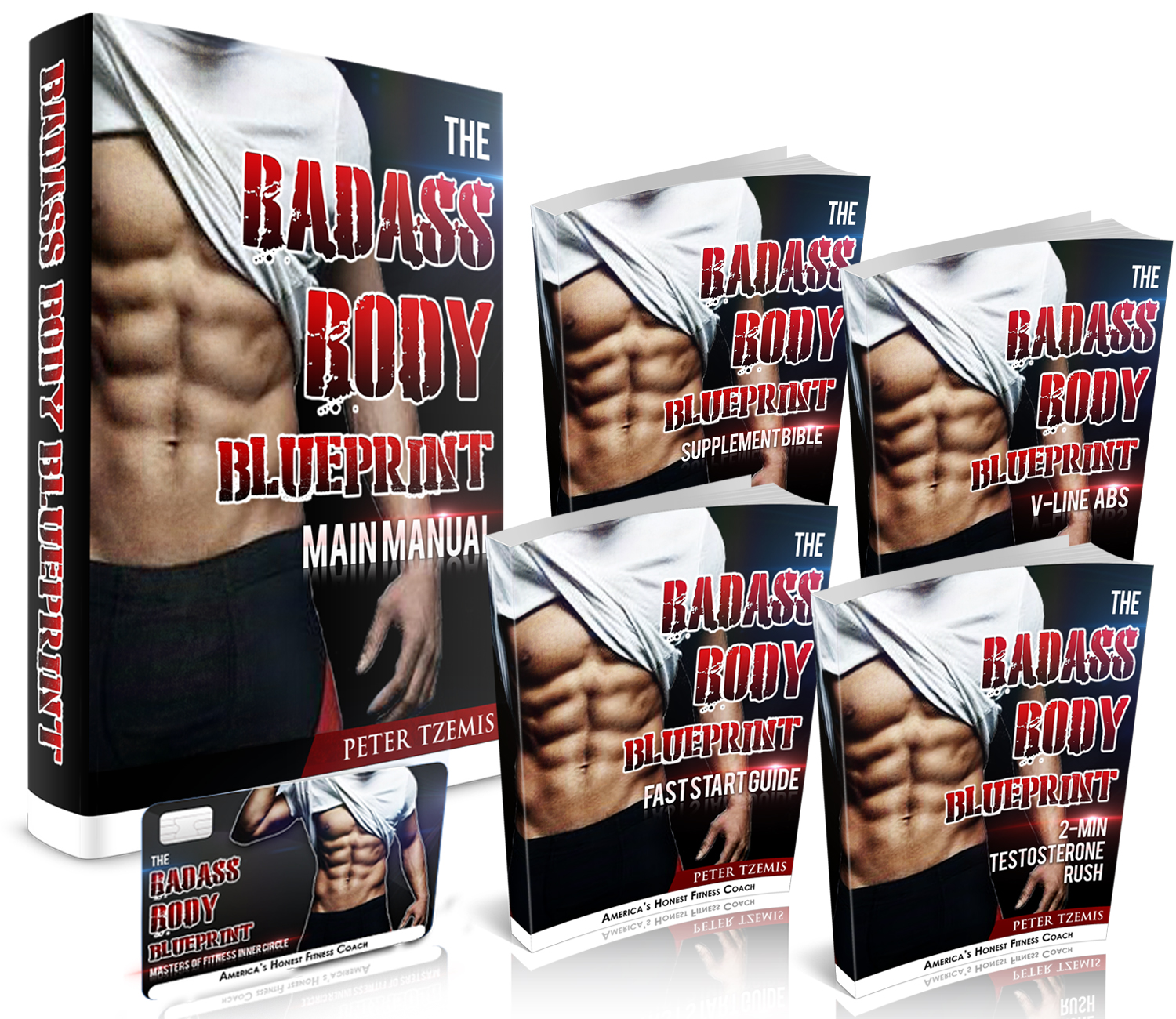 Badass body blueprint peter tzemis the badass body blueprint malvernweather Images
