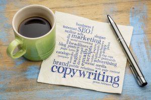 copywriting napkin